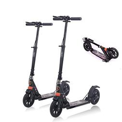 MONODEAL Adjustable Height Scooter, 2 Wheel Teen/Adult Kick
