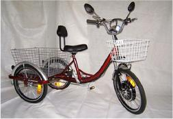 Adult Electric Motorized Tricycle Scooter