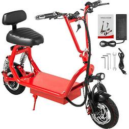 Foldable Electric Scooter Bike 400W 48V8Ah Battery 15.6-21.9