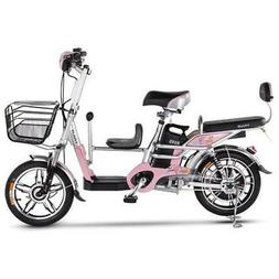 Adult Two Wheels Electric Bicycle 16 Inch 48V 240W Portable