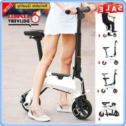 aluminum electric bike scooter foldable moped bicycle