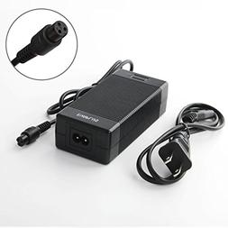 EVAPLUS Battery Charger 42V 1.5A Power Adapter with 3-Prong