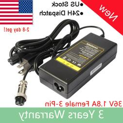 Battery Charger For Razor Electric Scooter E100 E200 E300 E1