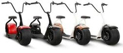big fat tire electric scooter citycoco harley