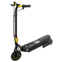 Black and Yellow Steel Sonic XL Electric Scooter with Rechar