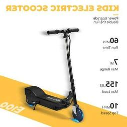 MAXTRA Black 155LBS 10mph Folding Adjustable Electric Scoote