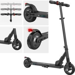 black folding electric scooter adults motor 250w