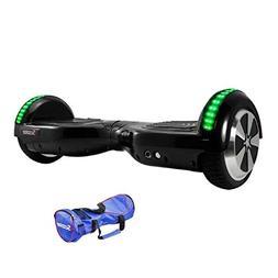 Black Hoverboard LED Self Balancing 6.5inch Electric Skatebo