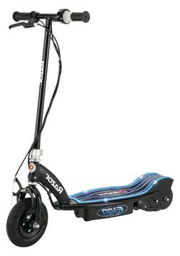 blue e100 glow electric scooter new