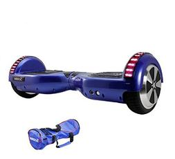 Blue Hoverboard LED Self Balancing 6.5inch Electric Skateboa