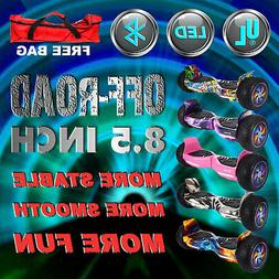 """Bluetooth OFF-Road 8.5"""" 2020 Hoverboard Self balancing Scoot"""