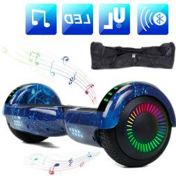 Bluetooth Speaker Hoverboards Swagtron Scooter LED 6.5'' 2