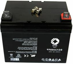 SPS Brand 12V 35Ah  battery for Electric Mobility Rascal 140