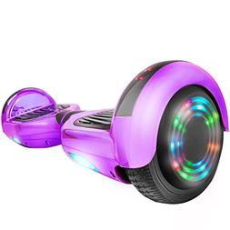 C1Plus Chrome Self-Balancing Hoverboard w/Bluetooth Speaker,
