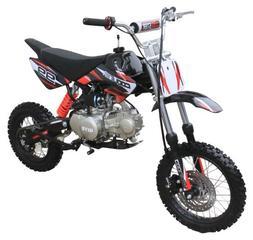 Coolster 125cc Manual Clutch Mid Size Cali Legal Dirt Bike -