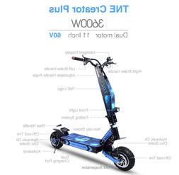TNE Creator Plus 3600w Electric Scooter 60v 26ah Lithium Bat