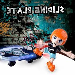 DOMENICO Fantasy Cartoon Electric Stunt Scooter Skateboard w