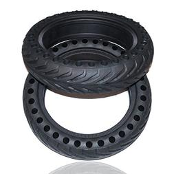 Rollsafe Drilled Solid Tubeless Replacement Tires for Xiaomi