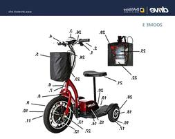 """Drive Medical Scooter Parts """"DIY REPAIR IPB SERVICE"""" - Zoome"""