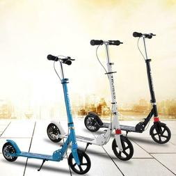 ANCHEER Folding Kick Scooter Sport Portable Adjustable Heigh