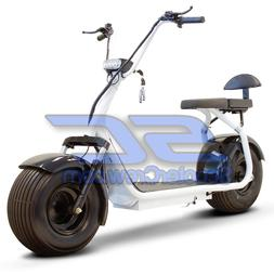 E Powered Scooter EV Large Tire 800 Watt Motor Front Shock W