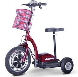 E-Wheels EW-18 Stand-N-Ride  Electric Scooter + FREE Safety