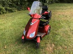 E-Wheels EW-72 FAST Recreational Mobility Scooter  RED