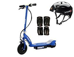 Razor E100 Motorized 24V Electric Scooter  with Helmet, Elbo