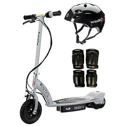Razor E100 Kids Motorized 24V Electric Scooter with Helmet,