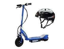 Razor E100 Motorized 24V Electric Scooter  & Youth Sport Hel