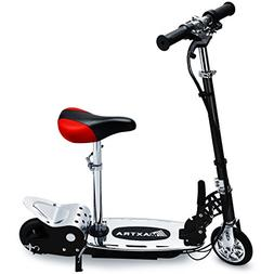 Maxtra E120 Electric Scooter with Seat 177lbs Max Weight Cap