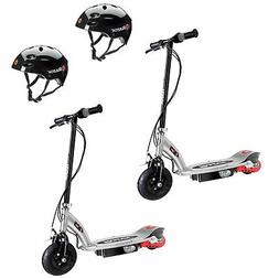 Razor E125 Rechargeable Kids Electric Motor Scooters, Black