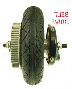 Razor E200 Scooter Rear Wheel Assembly BELT drive tire tube