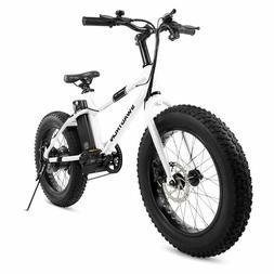 "Swagtron EB-6 Bandit E-Bike 350W Motor, Power Assist, 4"" T"
