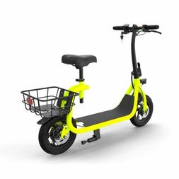 GlareWheel EB-NTEC1 Green Commuting Electric Bike/Scooter |