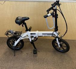 SwagTron EB5 14 inch Electric Bike - White