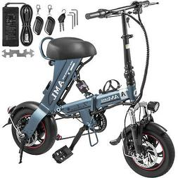 eBike 250W Mini Folding Electric Bike/Scooter with 36V 12Ah