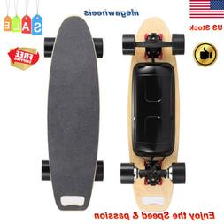 Electric 4-Wheels Somatosensory Scooter Sport Skateboard Lon