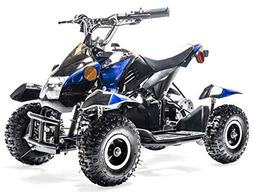 Rosso Motors Kids ATV Kids Quad 4 Wheeler Ride On with 500W