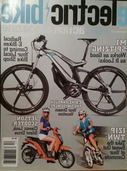 ELECTRIC BIKE magazine M1 Spitzing Izip Twn Jetson Scooter D