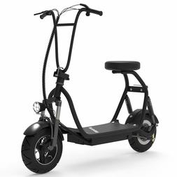 SKRT Electric Bike Scooter Up to 18.6 Miles Long-Range Batte