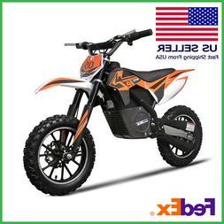 Electric Dirt Bike 500w Motor 24v Adult MotoTec Kids 16MPH O