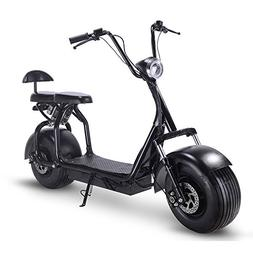 Rugged Electric Fat Tire Scooter 48V 1000W City Bike for Adu