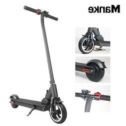 Electric Folding Kick Scooter GPS Manke 25km/ LED Lights Sco