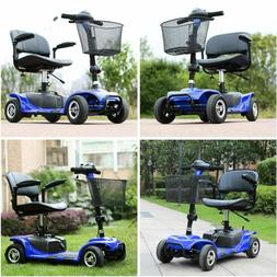 Electric/Hand push mode Folding Electric Powered Mobility Sc