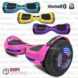 Electric Hoverboard Bluetooth Smart Self Balancing Scooter U