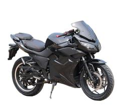 Electric Motorcycle Vehicle 5000W 72V 40A Lithium Battery **