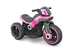 Ride-on Toys SW198AP Electric Police Tricycle Bike 6v Motor
