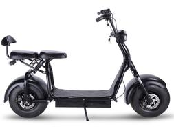 Electric Powered Scooter 1000w 2 Seater Fat Tire Chopper Ape