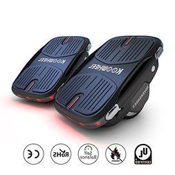 Koowheel Electric Roller Skate Hover Board with LED Lights,2